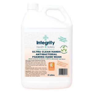 Integrity Health & Safety Indigenous Antibacterial Foam Hand Wash 5 Litre