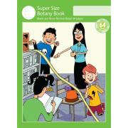 Super Size Botany Book 8mm Normal Ruled 64 Pages