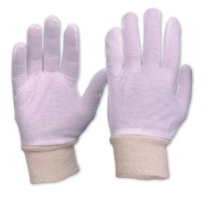 Pro Choice 342Clkw Interlock Poly/Cotton Liner With Knitted Wrist Gloves- Mens Pair