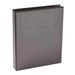 sustainable earth by staples insert binder a4 2 d ring 25mm black winc