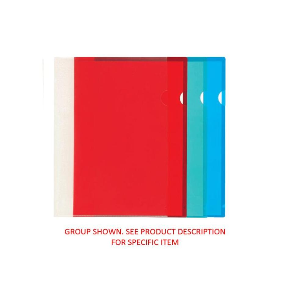 Staples Letter File A4 Open 2 Sides Executive Green