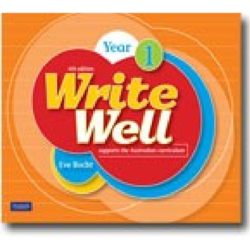 Write Well 6th Edn Year 1 Image