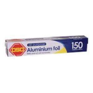 Aluminium Foil Oso 150 Metre X 44cm A3/1102 Image