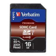 Verbatim Premium SDHC 16 GB Memory Card