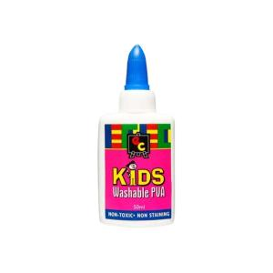 Educational Colours Kids Washable PVA Glue 50ml