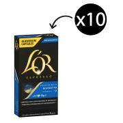 L'OR Espresso Decaffeinated Coffee Capsules Ristretto Box 10