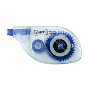 Staples Correction Tape 5mmx8m Dual Angle