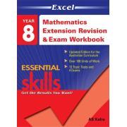 Excel Math Rev Exam Workbook 2 Year 8. Author A.s. Kalra