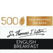 Sir Thomas Lipton English Breakfast Tea Bags Carton 500