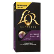 L'OR Espresso Supremo Coffee Capsules Box 10
