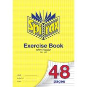 Spirax 100 A4 Exercise Book 48 Pages 8mm Ruled