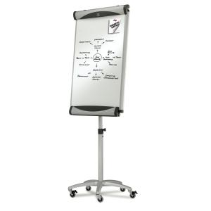 Quartet Euro Porcelain Mobile Magnetic Easel 1000 x 685mm