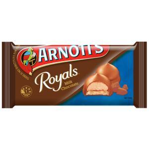 Arnotts Royals Milk Chocolate 200g