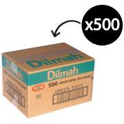 Dilmah Enveloped Tea Bags Green Tea Carton 500