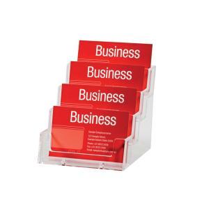 Esselte Business Card Holder Free Standing Landscape 4