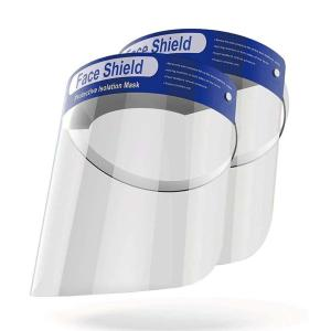 Face Shields Disposable 1 Use Bag of 12