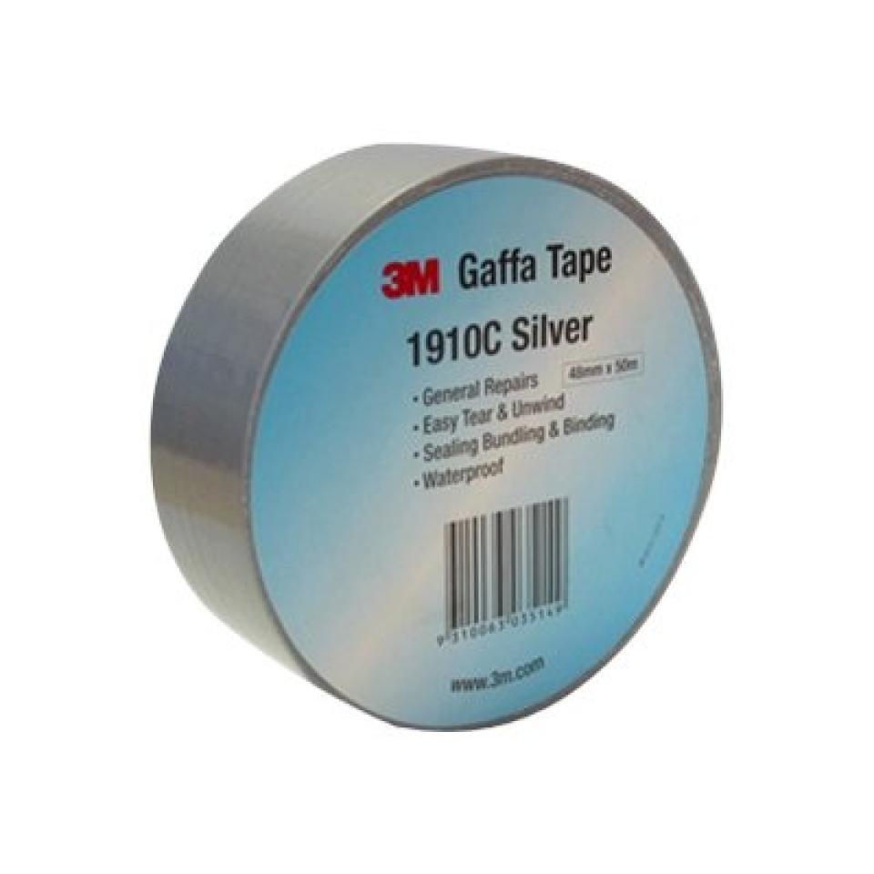 3m Cloth Gaffa Tape 1910c 48mmx50m Silver