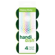 Handi Dish Wand Heavy Duty Refill 4 Pack
