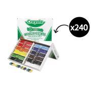 Crayola Classpack Coloured Pencils & Sharpeners - Box 240
