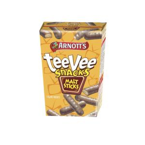 Arnotts Tee Vee Snack Malt Sticks 175g