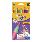 BIC Kids Evolution Circus Colouring Pencils 12 Pack