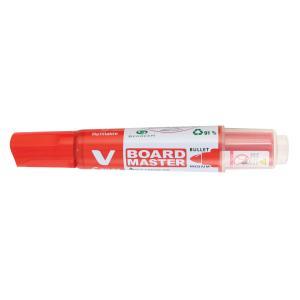 Pilot Begreen V Board Whiteboard Marker Bullet Red Box 10