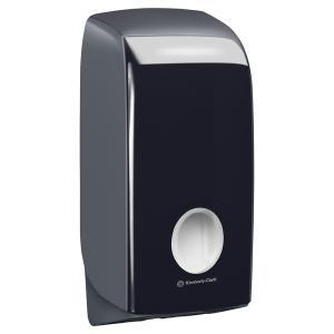 Kimberly Clark Professional Aquarius 7172 Single Sheet Toilet Tissue Dispenser Black