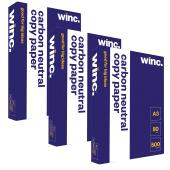 Winc Carbon Neutral Copy Paper A3 80gsm White Carton 3 Reams