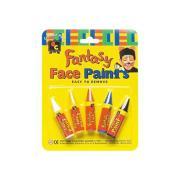 Educational Colours Face Paint Crayon Set 5