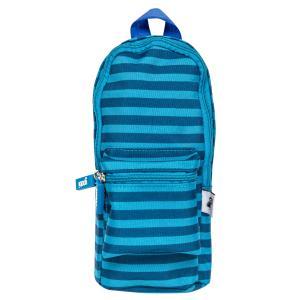 Yoobi Mini Backpack Pencil Case Blue Stripe Winc