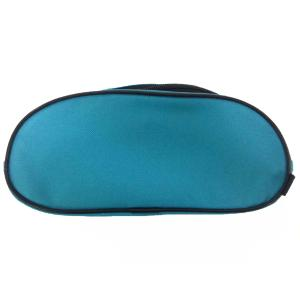 Staples Double Zip Pencil Case Neon Blue