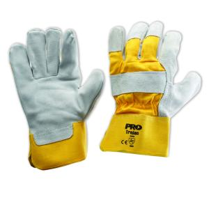 Pro Choice 940gy Yellow/Grey Leather Gloves One Size Pair