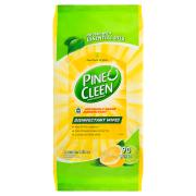 Pine O Cleen Disinfectant Surface Wipes Lemon Lime Pack of 90