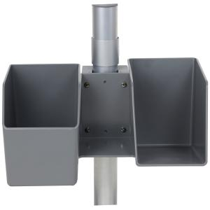 Ergotron LearnFit SE Storage Bin Dark Grey
