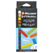 Micador Cp-12 Chalk Pastels Pack of 12