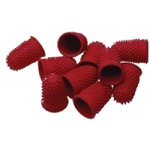 Esselte Superior Thimblettes Size 1 Red Each