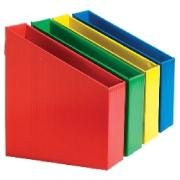 OfficeMax A4 Magazine/File Holder Assorted Bright Colours Pack of 12