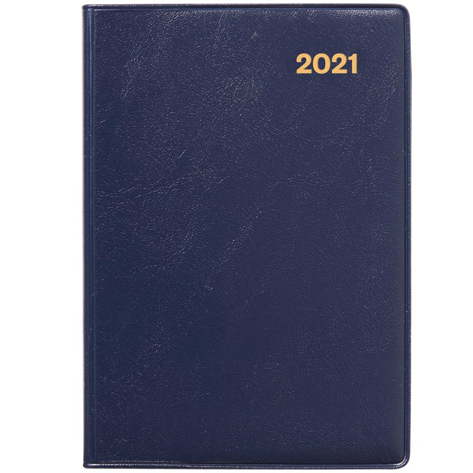 Winc 2021 Pocket Diary A7 Day to Page Navy