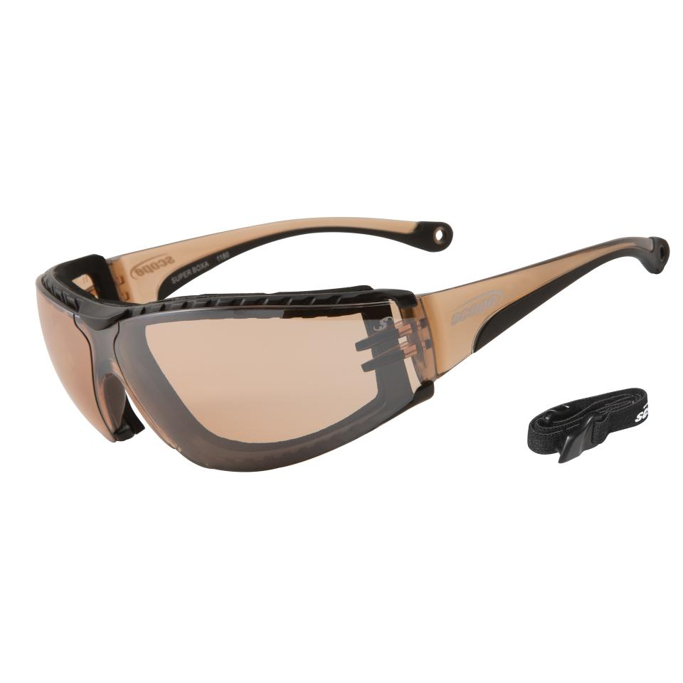 Scope 100A-Sbx Super Boxa Amber Lens Safety Spectacles