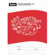 Tudor 64 Pages Single Ruled Red 12mm