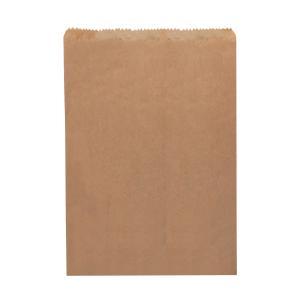Castaway Paper Bag No 1 Flat Pie 140X185mm Brown Carton 1000
