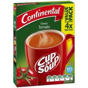 Continental Cup-A-Soup 80g Tomato Pack 4