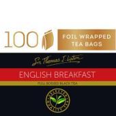 Sir Thomas Lipton English Breakfast Tea Box 100
