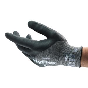 Ansell HyFlex 11-537 Nitrile 3/4 Coat Level B Cut Resistant Glove Pair