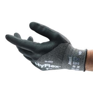 Ansell HyFlex 11-537 Nitrile 3/4 Coat Level B Cut Resistant Glove Pair
