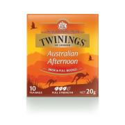 Twinings Australian Afternoon Tea Enveloped Tea Bags Pack 10