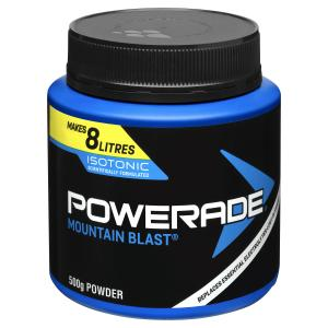 Powerade Isotonic Mountain Blast Powder 500g Jar