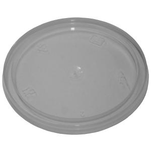 Livingstone Round Sauce Container Lid To Suit 70ml and 110ml Clear Carton 1000