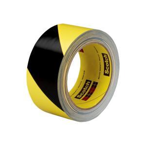 3M Black and Yellow Vinyl 5702 Hazard Tape 50mm x 33m