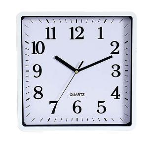 Carven Wall Square Clock White Winc